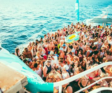 Friends Boat Party @ Hideout, Isle of Pag